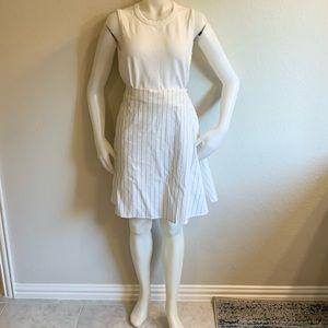 TIMO.WEILAND White Cotton Wrap Mini Skirt Sz 6 NWT